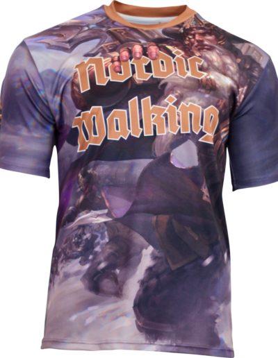 koszulka nordic walking sublimacja