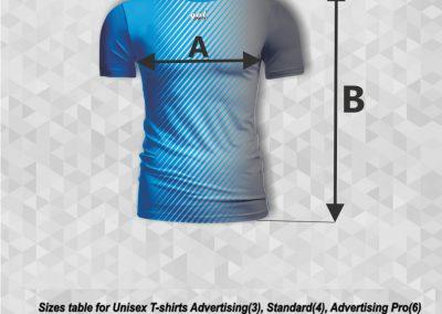 T-shirt standard rozmiary