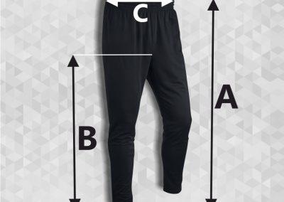 rozmiary spodnie
